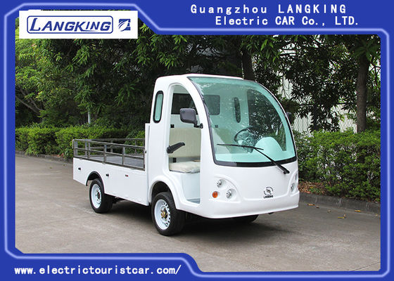 China Left Hand Drive Electric Mini Truck For Amusement Park / Campus / Hotel supplier