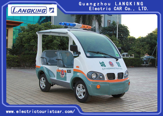 China Moldel CA040 Electric Police Vehicles Security Cruise Car 4 Wheel Drive supplier