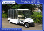 Good Quality Electric Tourist Car & 2 Seater Electric Utility Carts , Electric Food Cart With Customized Cargo Box on sale