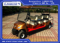 Good Quality Electric Tourist Car & 8 Passenge Electric Club Car For Hotel Reasort 80km Range HS CODE 8703101900 on sale