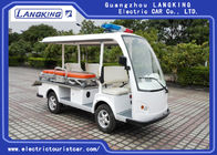 Good Quality Electric Tourist Car & 4 Seats One Bed Electric Tour Bus For Sport Center / Electric Sightseeing Vehicle on sale
