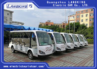 Good Quality Electric Tourist Car & 14 Seater Electric Sightseeing Bus , 72v Electric Shuttle Car  for Exhibition on sale