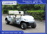 China 4 Wheel 4 Person Electric Club Golf Cart Car 48V Battery Powered Without Roof factory