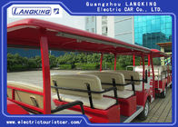 University / School Electric Tourist Car 14 Seats + 11 Seats Trailer Battery 6v*12pcs