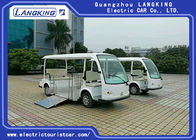 China 5 Passenger Electric Tourist Car With Wheelchair For Disabled , Max.Speed 28km/h factory