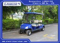 China Mini 4 Wheel 4 Person Electric Club Car Golf Carts With 48V Battery Powered factory
