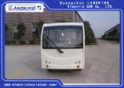 23 Seats  Spacious Electric Shuttle Bus For Tourist Attractions Max . Speed 28m/h