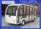 Battery Operated Electric Shuttle Car 11 Seats For Museum , Mountain Area