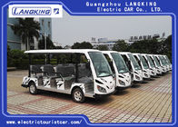 China White Color Electric Shuttle Vehicles With 11 Seater Zero Pollution Long Service factory