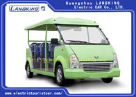 Good Quality Electric Tourist Car & Capacious 11 Seats Green Electric Shuttle Car Resort Vehicles High Performance on sale