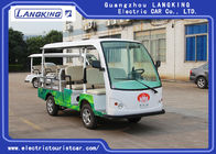China 0.9 Ton Loading Capacity 5 Person Electric Mini Truck With Roof 5KW Powerful Motor Left Hand Drive factory