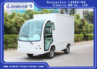 China 2 Seater Electric Cargo Van For Goods Loading And Unloading 900kg / Electric Freight Car factory