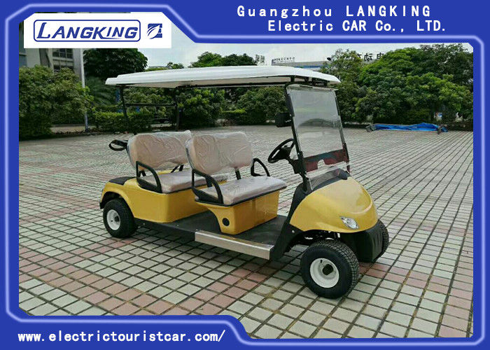 Mini 4 Wheel Drive Electric Golf Carts With 48v Dry Battery For