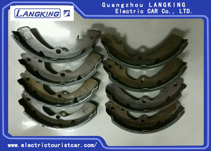 Original Color No Noise Brake Shoe For Electric Golf Cart / Club Car