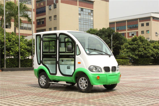China Hotel 4 Seater Electric Patrol Car 48 Volt Golf Cart With Doors Model Y045 factory