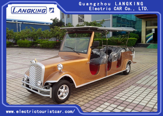 China 48V Battery Operated Antique Electric Cars With Brown Seat Environmental Friendly factory