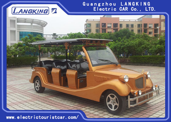 China Elegant Mini 72 Volt Electric Car , Electric Sightseeing Car Battery Powered factory