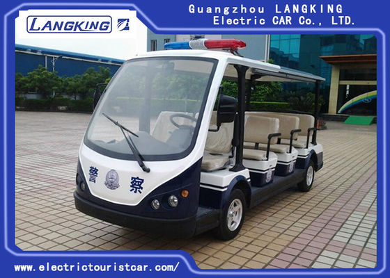 11 Person Electric Shuttle Car , Motorised Golf Buggies Y111B 11 SEATERS