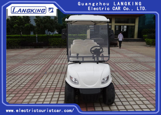 China 6V /170Ah Free Maintain Battery Electric Golf Club Cart With PC Windshield factory