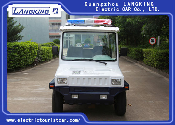 China 48V/4KW 5 Seater Electric Car , Electric Powered Utility Carts With Big Light On Roof factory