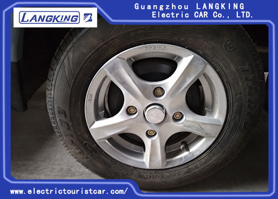 China Tire And Wheels Spare Parts For Electric Towing Tractor / Electric Car / Electric Freight Car factory
