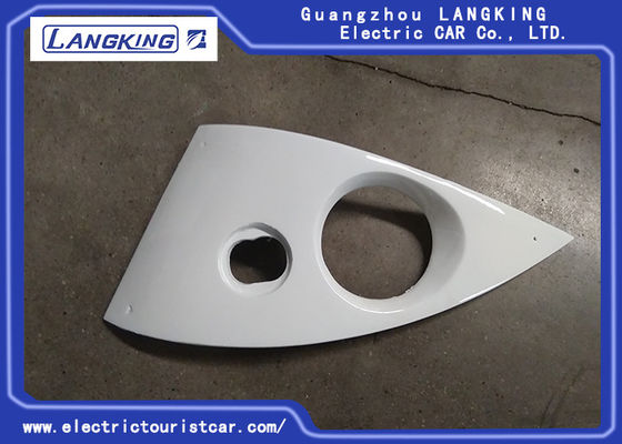 China Electric Parts Front Left / Right Lamp Panel For Electric Shuttle Bus / Freight Car factory