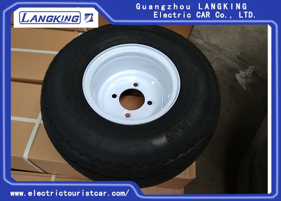 China 8 Seats Electric Cart Parts Tire With Rim / Electric Towing Tractor Parts 4PR/6PR factory