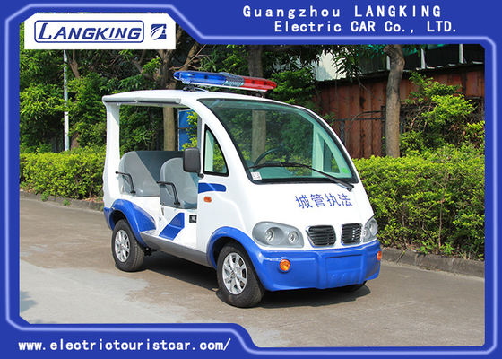 China 8~10h Recharge Electric Club Car / DC Motor 48Volt 4 Seater Golf Buggy With Toplight factory
