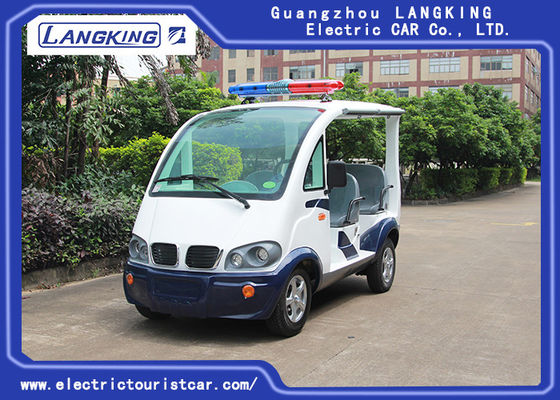 China Unique 4 Seats Electric Patrol Car Battery Powered  Max. Speed 28km/H factory