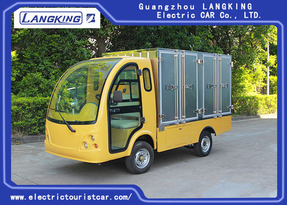 China 2 Passengers Golf Food Cart  Loading 900kgs / Electric Freight Car With Door factory