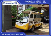8 Seater Electric Sightseeing Bus , Tourist Electric Shuttle Car  CE Approved